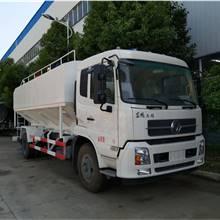 散裝飼料車   廠家生產改裝各種大中小型顆粒物料運輸車