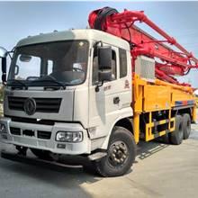 混凝土泵車 水泥泵車 后雙橋36.37.38米價格