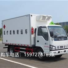 國五慶鈴醫療廢物轉運車報價 慶鈴醫療垃圾收集車技術參數 圖片配置