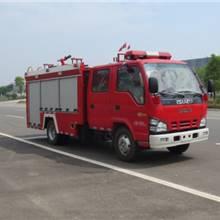 新款五十鈴600P消防車廠家直銷