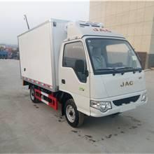 江淮康玲3米1廂式面包冷藏車