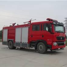 長期銷售多功能江特牌型干粉水聯用消防車搶險救援車