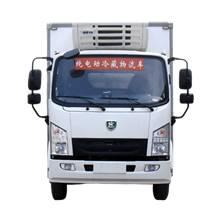 河南森源純電動冷藏物流車新能源物流冷藏車城市物流運輸電動拉貨車7噸冷藏車純電動廠家直銷