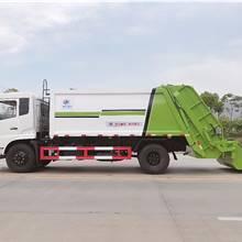 壓縮垃圾車分類 壓縮垃圾車工作原理和結構 側裝壓縮垃圾車的壓縮比例