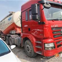 二手貨車陜汽德龍歐曼豪沃雙驅散裝水泥罐車