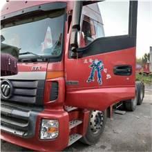二手出售歐曼陜汽德龍二托三高欄必須二手貨車