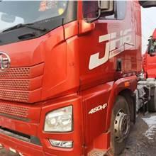 低價出售解放J6錫柴460馬力二手貨車
