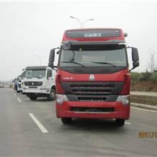 華威牌粉粒物料運輸車圖片集