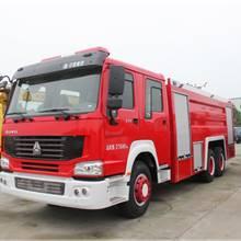 重汽牌豪沃266泡沫消防車