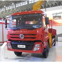 第二屆中國國際商用車展覽車型:東風隨車起重運輸車