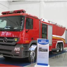 第二屆中國國際商用車展覽車型:重汽HOWO雙橋消防車