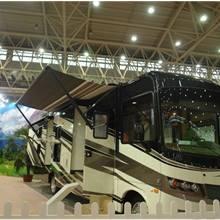 第二屆中國國際商用車展覽車型:武漢森林河自行式旅居車