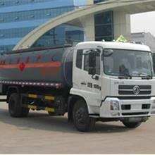 程力威牌CLW5161GRYD4型易燃液體罐式運輸車
