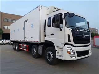 廠家直銷東風天龍前四后八9.6米冷藏車