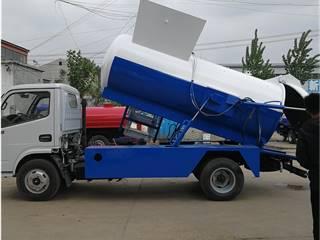 東風D6餐廚垃圾車 環衛車5噸餐廚垃圾車價格參數配置壓縮垃圾車掛桶垃圾車