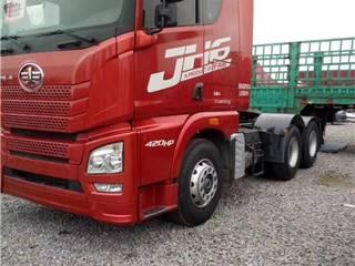 二手轉讓解放J6錫柴460馬力二托三貨車